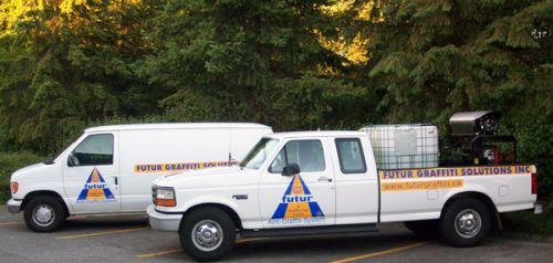 Our Graffiti Removal Service Fleet